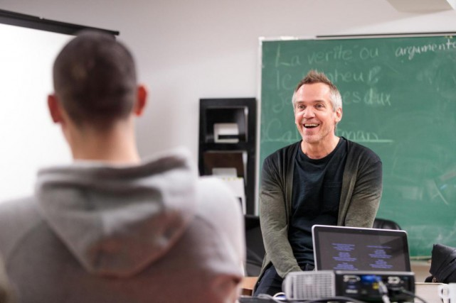 Le réalisateur Jean-Marc Vallée a rencontré des jeunes... (Photo Hugo-Sébastien Aubert, La Presse)
