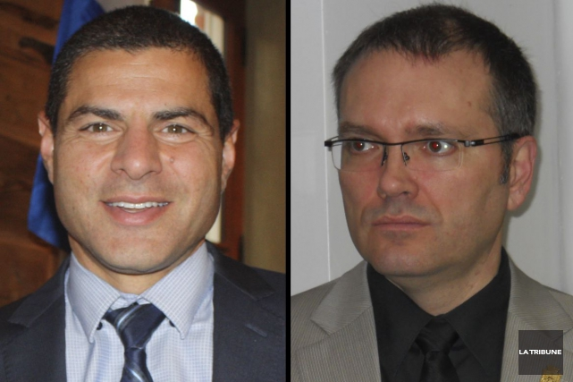 Les députés de Richmond-Arthabaska, Alain Rayes, et Mégantic-L'Érable,... (Archives, La Tribune)