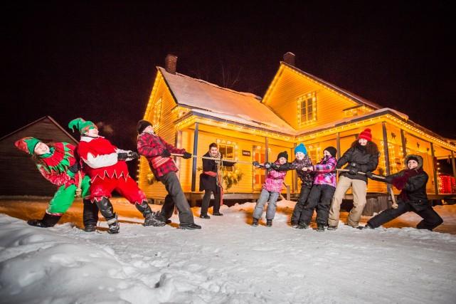 Le Village québécois d'antan proposera un Noël d'antan àMarinaOrsini, les 2, 3... (Photo tirée de Facebook)