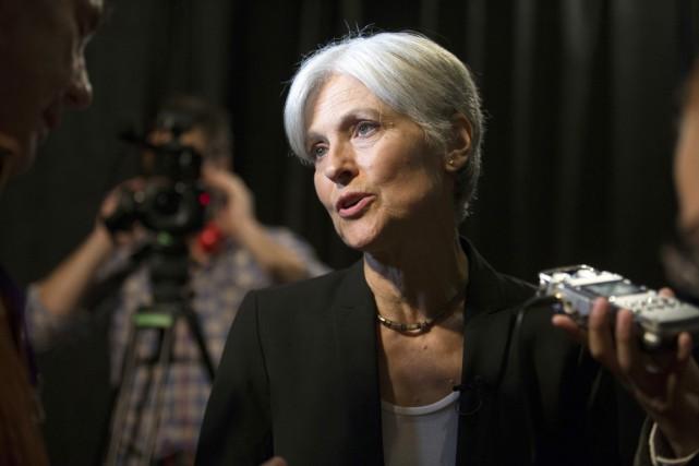 L'équipe de campagne de Jill Stein évoque des... (photo D. Ross Cameron, archives AP)