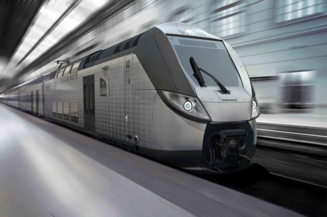 Les trains Omneo Premium doivent être mis en... (Photo fournie par Bombardier)
