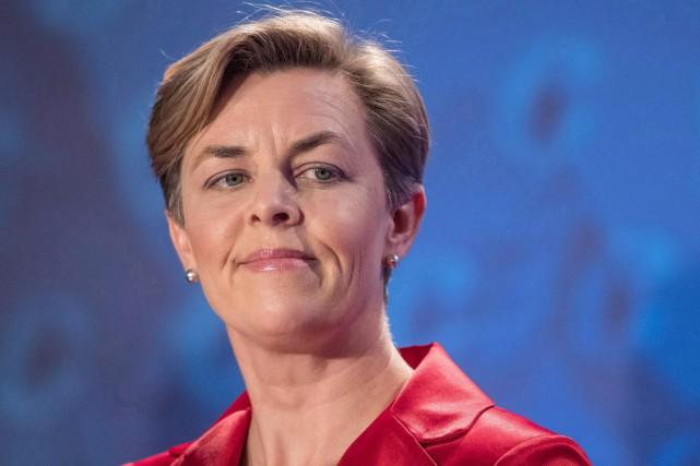 La candidate à la chefferie conservatrice Kellie Leitch... (Archives, La Presse canadienne)