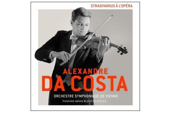 Stradivarius à l'opéra, d'Alexandre Da Costa... (image fournie par Spectra Musique)