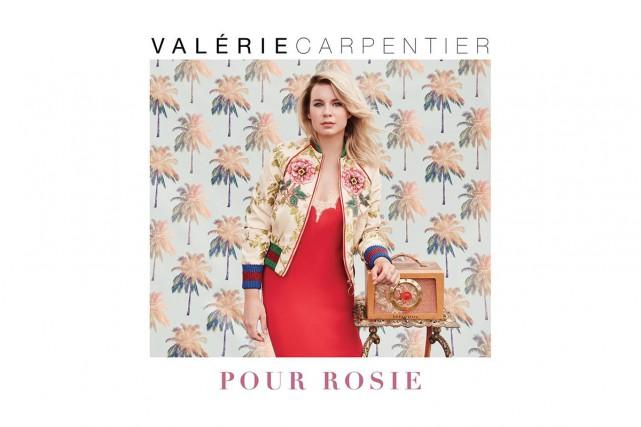 Valérie Carpentier lance un deuxième album intituléPour Rosie, qui...