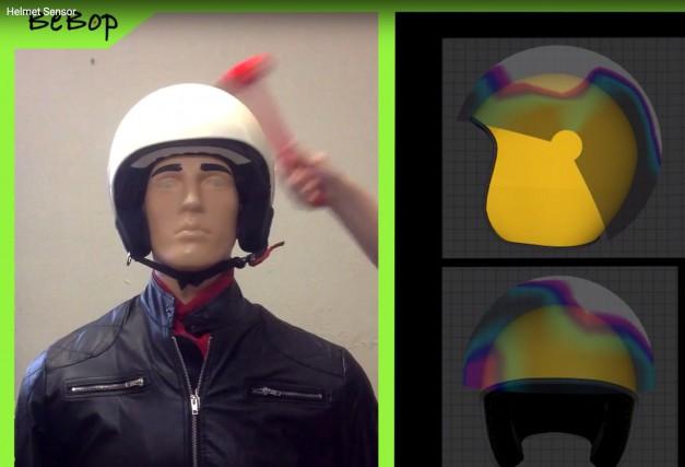 Le casque avec doublure Bebop permet de localiser... (La Presse)