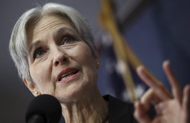 Jill Stein a engagé trois procédures pour obtenir... (photo WIN MCNAMEE, archives Agence France-Presse)