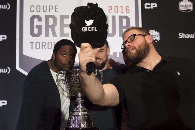Zack Evans (à droite) rêve de remporter une... (La Presse canadienne)