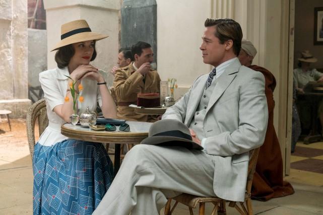 L'action d'Alliés commence à Casablanca,un clin d'oeil appuyé... (Fournie par Paramount)