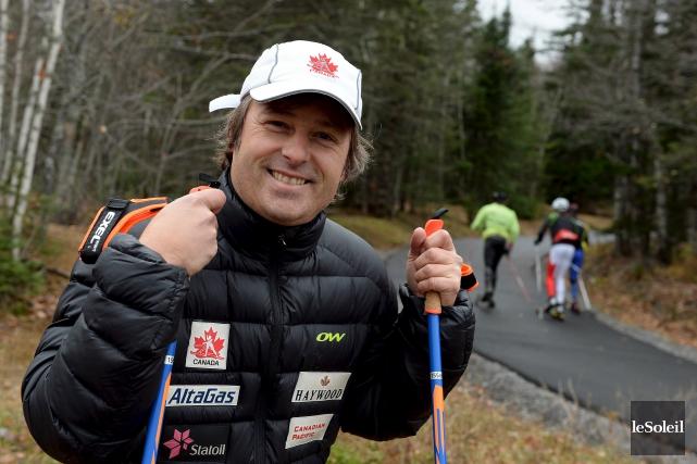 Membre de l'équipe d'entraîneurs de la formation canadienne... (Photothèque Le Soleil, Erick Labbé)