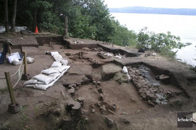 Le fort Cartier-Roberval de Cap-Rouge a été découvert... (Photothèque Le Soleil)