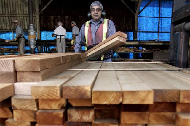 L'industrie forestière québécoise compte pas moins de 60... (La Presse canadienne)