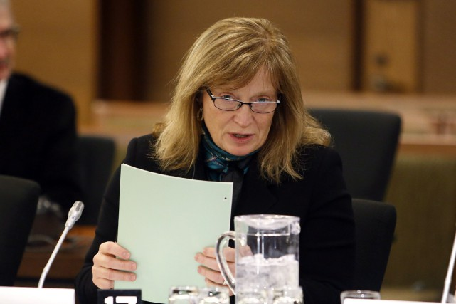 La commissaire à l'information du Canada, Suzanne Legault... (Photo Fred Chartrand, La Presse canadienne)
