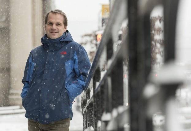 Chef du Choeur symphonique de Sherbrooke depuis 2013,... (Spectre Média, Frédéric Côté)
