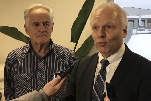 Le chef du Parti québécois, Jean-François Lisée, est... (La Tribune, Yanick Poisson)