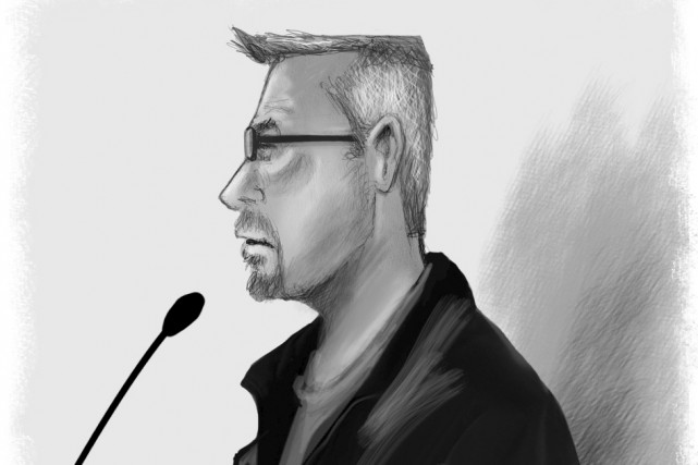 Denis Hachey... (illustration Serge Paquette, archives La Voix de l'Est)