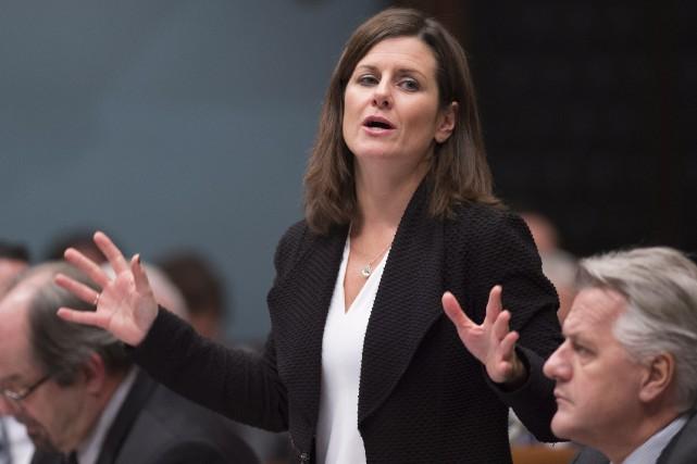 La ministre de la Justice du Québec, Stéphanie... (Archives, La Presse canadienne)