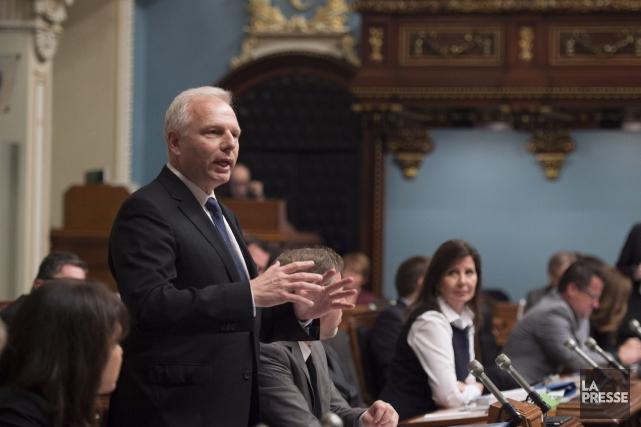 «Le débat politique québécois, par rapport à ce... (La Presse Canadienne)