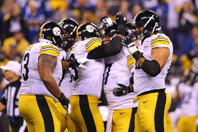 Les Steelers ont mis le match hors de... (PHOTO Aaron Doster, USA Today Sports)