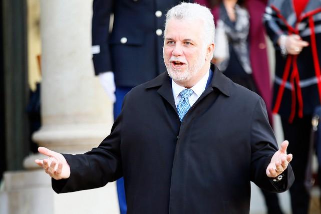 Lepremier ministre du Québec, Philippe Couillard... (Archives, Associated Press)