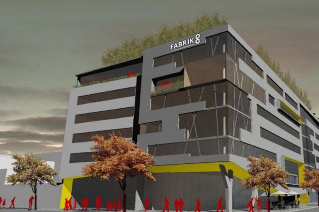 Les plans de ce nouveau bâtiment de six... (IMage fournie par Rocio Architecture)
