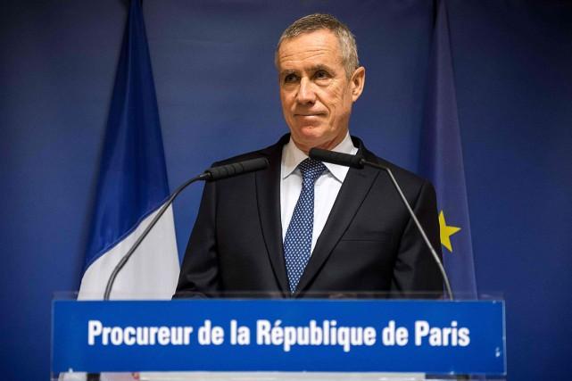 Cinq hommes, quatre Français et un Marocain, ont... (PHOTO LIONEL BONAVENTURE, AFP)
