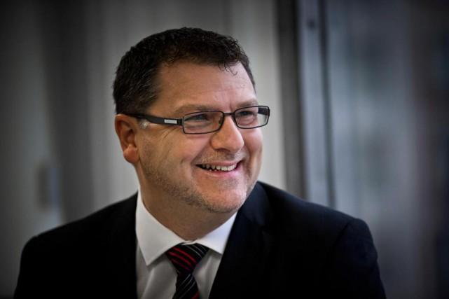 Vincent Lecorne, PDG du Centre de transfert d'entreprise... (Photo Patrick Sanfaçon, Archives La Presse)