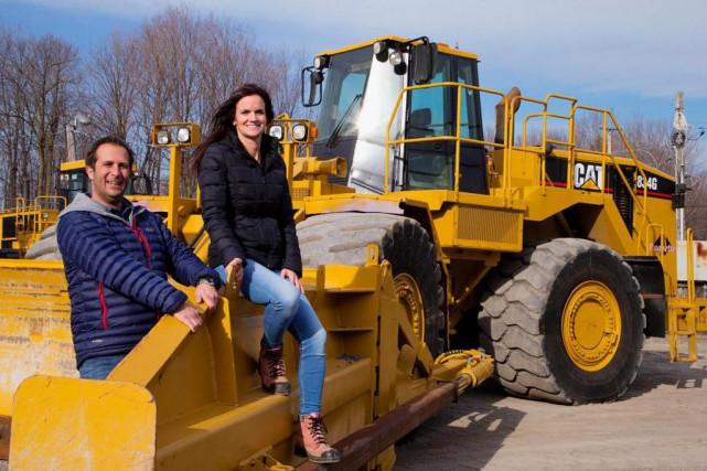 En 2013, Amélie Paquette et son associé Stéphane... (Photo Alain Roberge, La Presse)