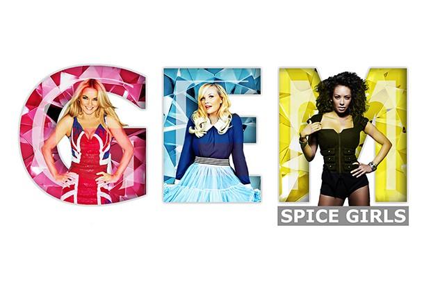 Les ex-Spice Girls Geri Halliwell, Emma Bunton et... (Image tirée de l'internet)
