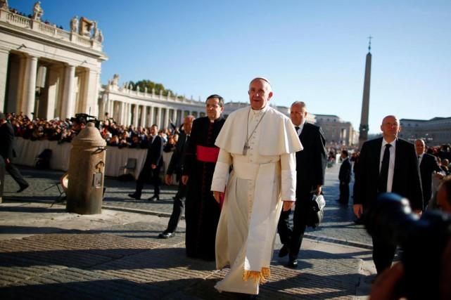 Ces dernières semaines, le pape a rencontré des... (photo tony gentile, archives reuters)