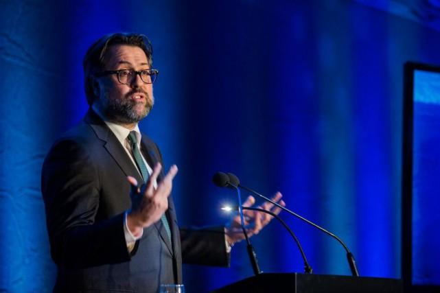 David Heurtel, ministre de l'Environnement du Québec... (PHOTO EDOUARD PLANTE-FRÉCHETTE, ARCHIVES LA PRESSE)