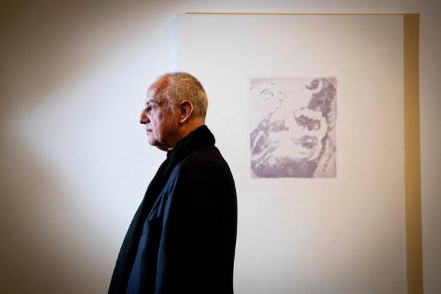 Le peintre belge Luc Tuymans fait partie des... (Photo Alain Roberge, La Presse)