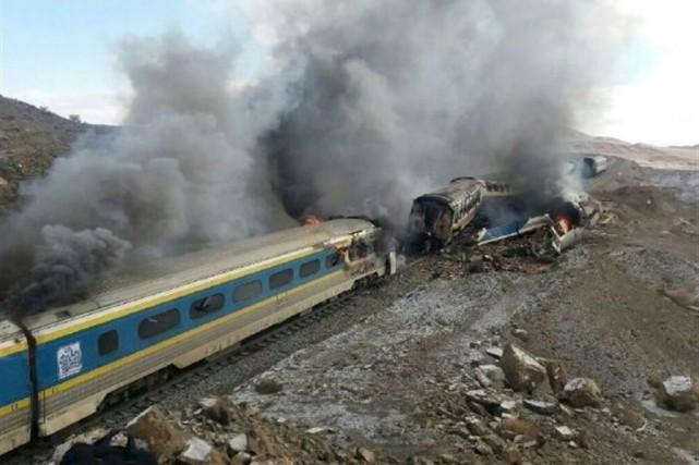 L'accident s'est produit par temps très froid quand... (AFP)