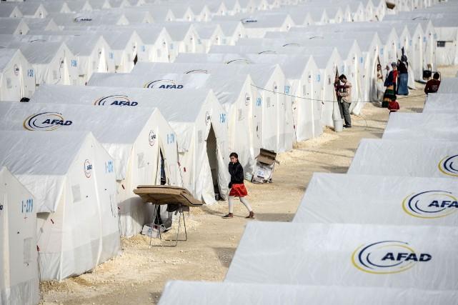 La Turquie abrite quelque 3 millions de réfugiés,... (AFP)