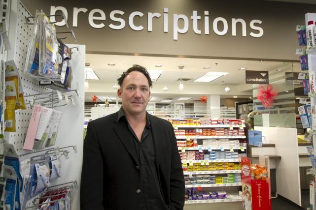 Philippe Leng, pharmacien propriétaire d'un Familiprix de Richmond,... (Spectre Média, René Marquis)
