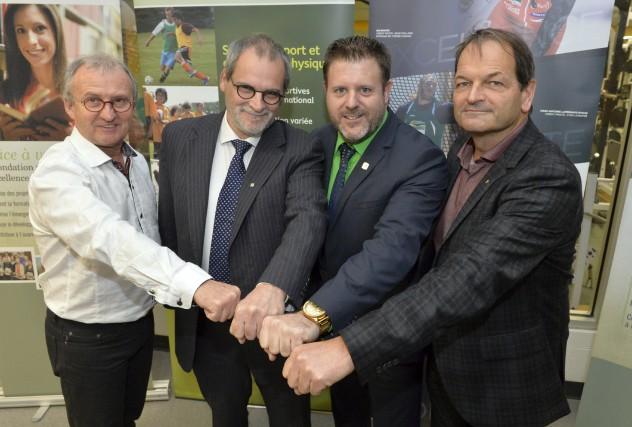 Jacques Petit, directeur général d'Excellence Sportive Sherbrooke (ESS),... (Spectre Média, Maxime Picard)