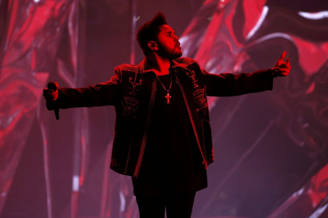 The Weeknd... (Photo Reuters)