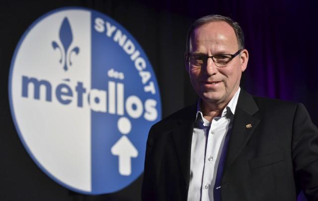 Le directeur québécois des Métallos, Alain Croteau, soutient... (François Gervais)