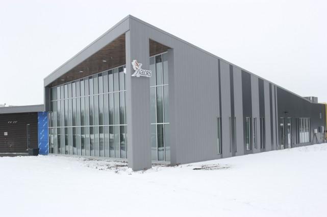 Le nouveau centre multiservices de Valoris, à Embrun.... (Martin Brunette, Le Droit)