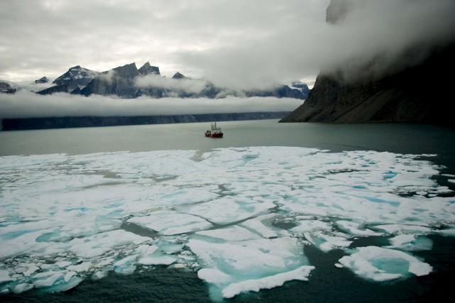 La présence de glace marine pendant l'été sera... (Photothèque Le Soleil)