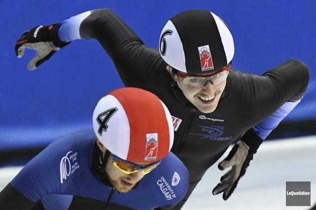 Yannick Desmeules (à droite).... (Photo Le Quotidien, Rocket Lavoie)