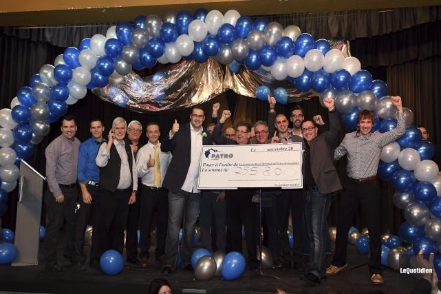 La campagne annuelle a permis d'amasser 255 800$.... (Photo Le Quotidien, Rocket Lavoie)