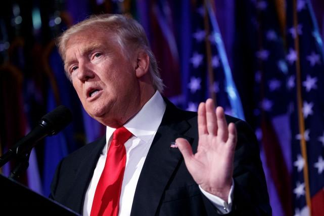 Le président élu des États-Unis Donald Trump a affirmé samedi qu'il ferait...