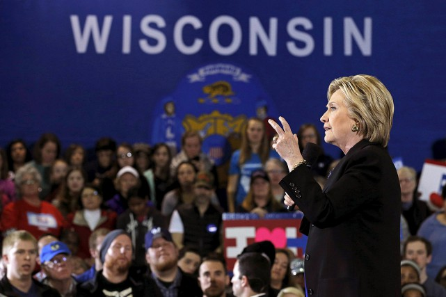 En campagne électorale, Hillary Clinton a prononcé un... (Photo Jim Young, archives REUTERS)