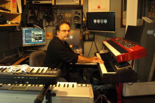 Dominic Laprise a composé en duo avec son... (Photo courtoisie)
