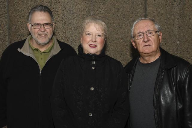 Léon Parent, président de l'Harmonie Saguenay, Hélène de... (Photo Le Progrès-Dimanche, Rocket Lavoie)