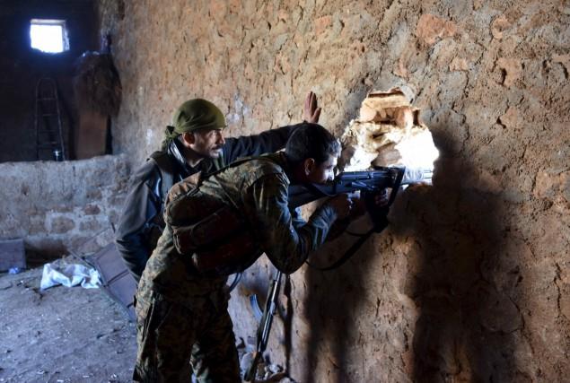 L'armée syrienne a lancé le 15 novembre une... (AFP)