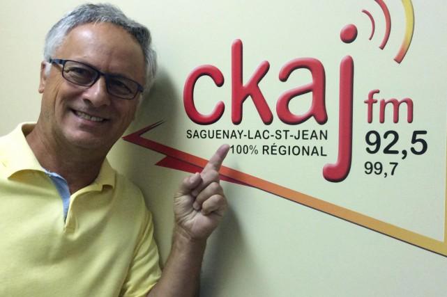 Michel Thiffault est animateur à CKAJ.... (Photo courtoisie)