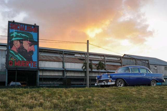 «Les Cubains ont déjà enterré Fidel depuis longtemps»,... (AFP)