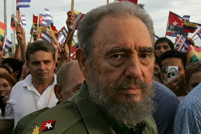 Il y a longtemps que Fidel Castro n'était... (Archives AFP, ADALBERTO ROQUE)
