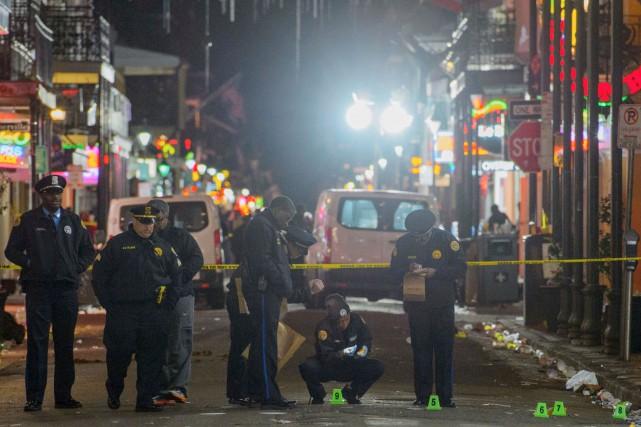La fusillade, dont la cause est inconnue, a... (AP, Matthew Hinton/The Advocate)